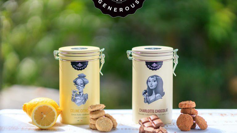 GENEROUSクッキー缶